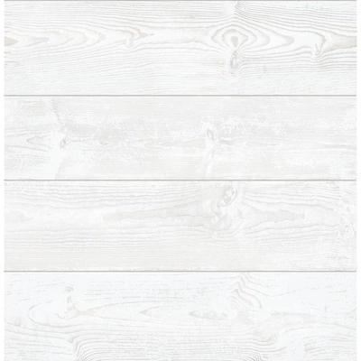 Scott Living 30 75 Sq Ft White Vinyl Textured Wood 3d Self Adhesive Peel And Stick Wallpaper Lowes Com Peel And Stick Wallpaper White Wood Wallpaper White Wood Floors