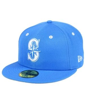 8ee7c536498 New Era Seattle Mariners Pantone Collection 59FIFTY Cap - Blue 7 1 4 ...