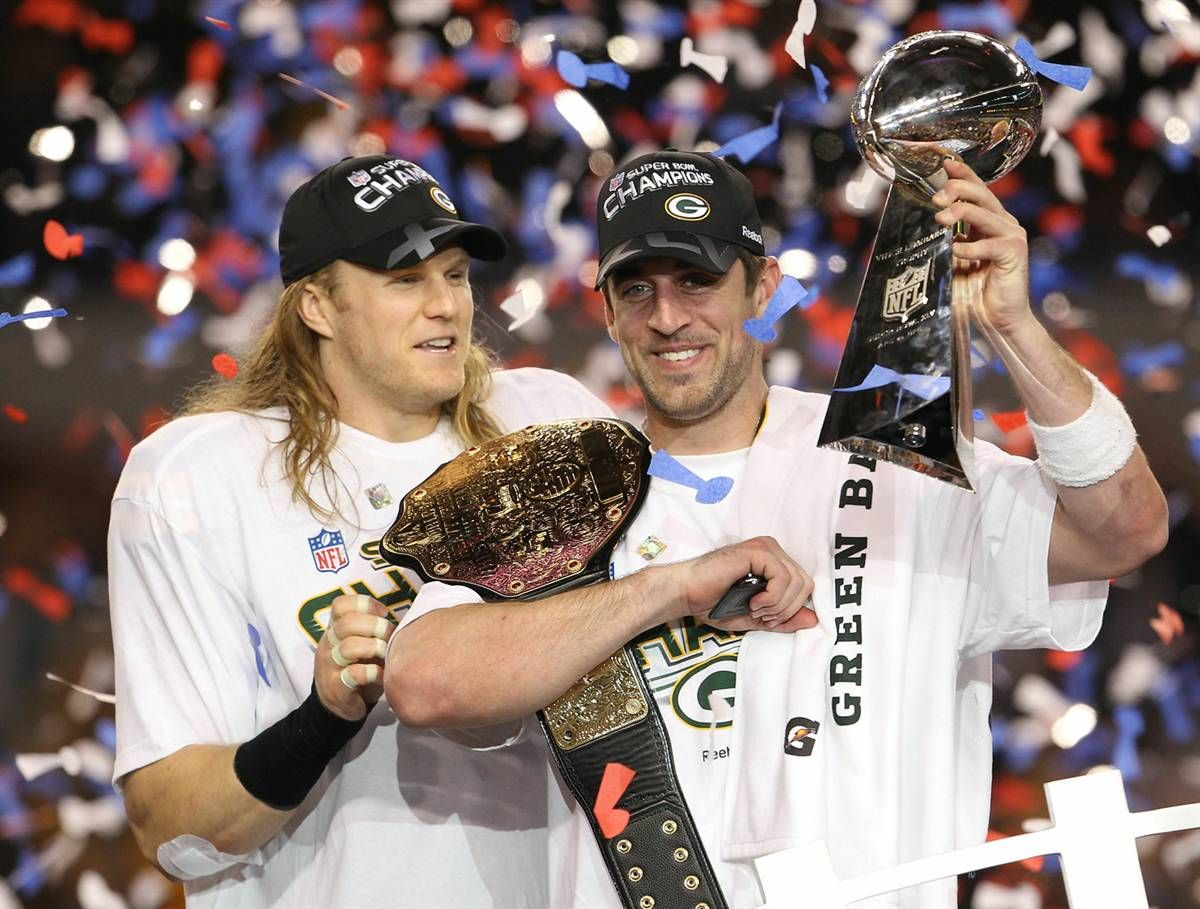 13 Active First Ballot Nfl Hall Of Famers The Grueling Truth Clay Matthews Aaron Rodgers Superbowl Xlv