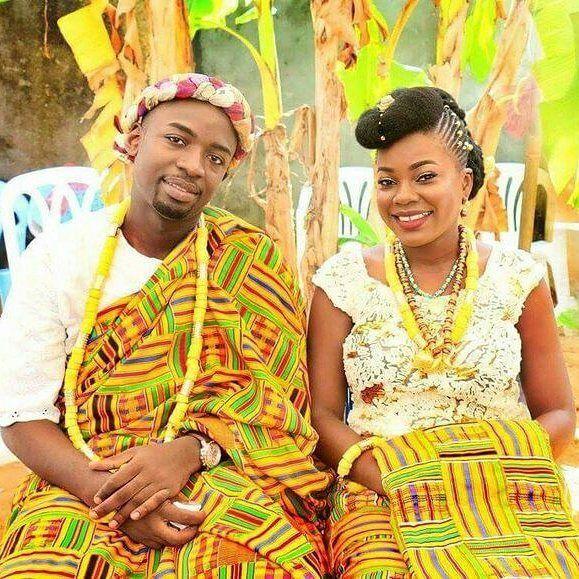 Colorful Kente Dress For Wedding, Kente Styles, Kente