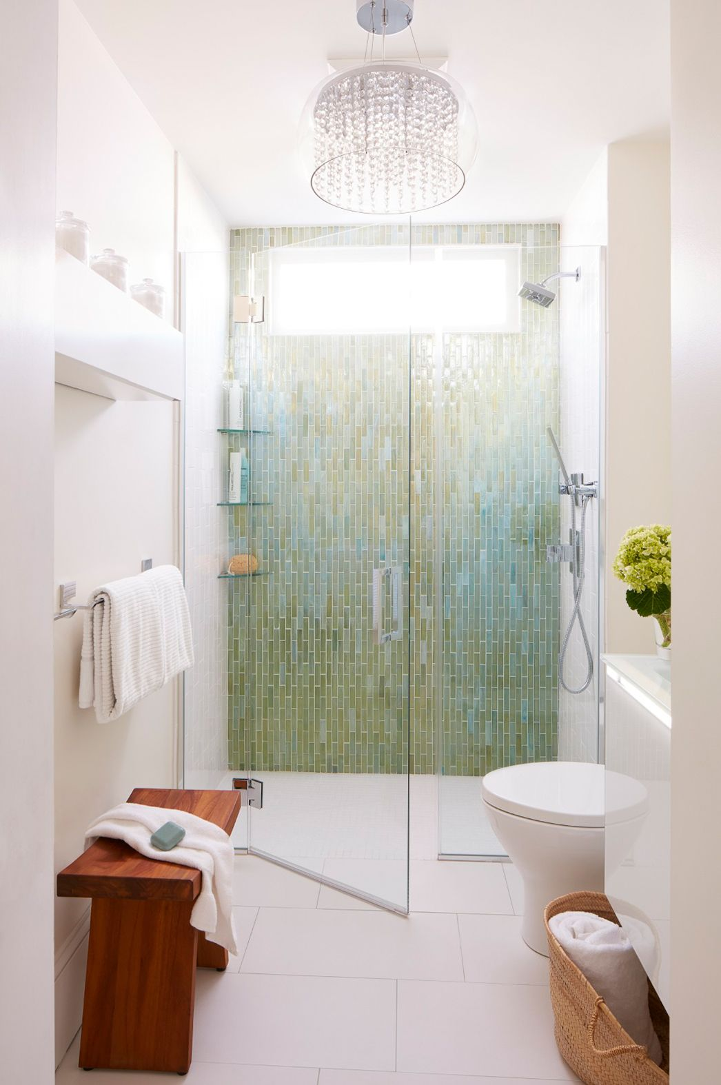 Zero Threshold Curb Free Shower Works In Even Small Spaces With