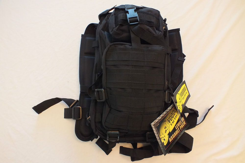 Voodoo Tactical Level III Backpack Assault Pack black
