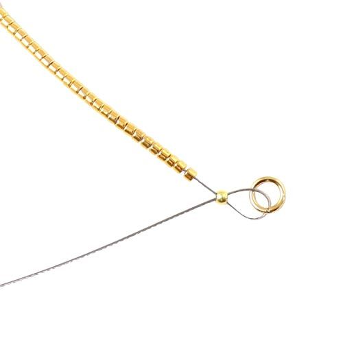 b4efca6d9cf Afslutning af armbånd med delica perler Perlesmykker, Perle Smykker, Smykker,  Lave Smykker,