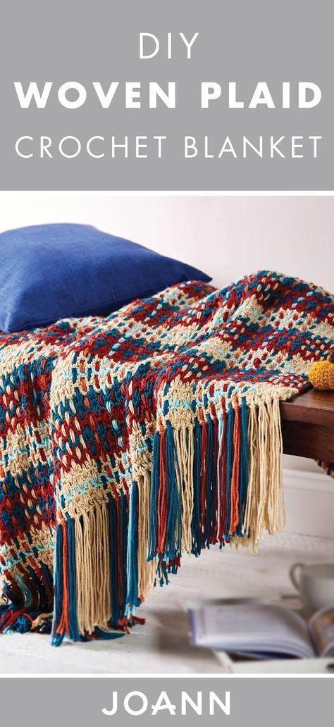 Hermosa Joann Patrones De Crochet Libre Festooning - Manta de Tejer ...