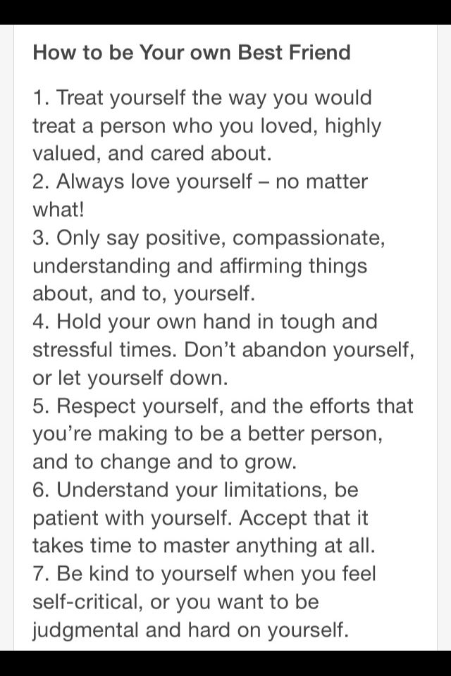 How To Be Your Own Best Friend Best Friend Quotes Personal Growth Motivation Friends Quotes