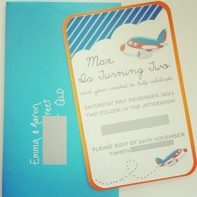 Plane Party Invitations Invites Pinterest Planes party Party