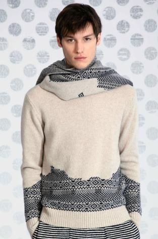 A/W 14/15 New York men's key knitwear designers. Band of outsiders