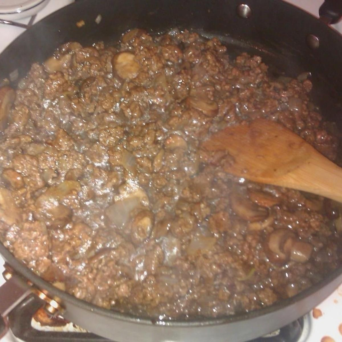 Hamburger Gravy Recipe Hamburger Gravy Hamburger Gravy Recipe Ground Beef Dishes