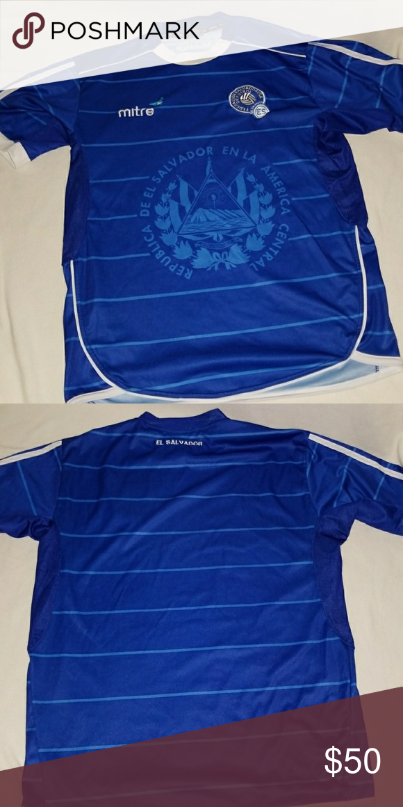 8421cd638 El Salvador National Team Jersey