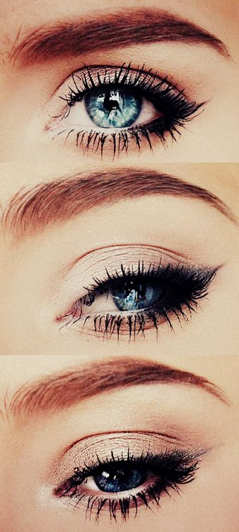 Classic Black Smokey Eye  #eye #makeup