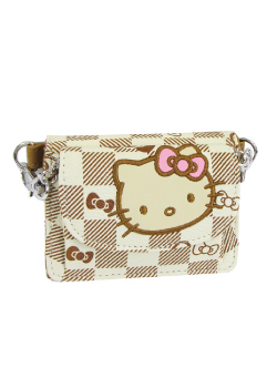 d5bb634ce Bolso Monedero/Billetera Shoulder Colección Kitty Grid. Hello Kitty. Precio:  $ 32.92 (Sin I.V.A.)