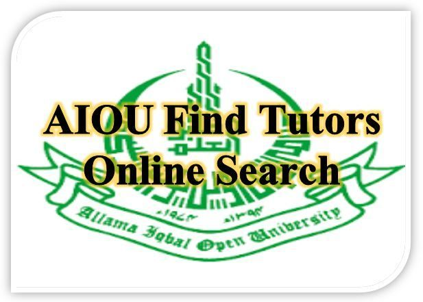Aiou tutor information 2019