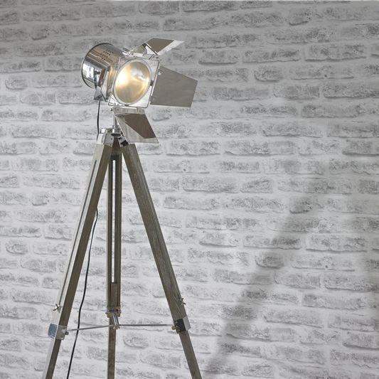 Spotlight tripod floor lamp large interior pinterest tripod spotlight tripod floor lamp large aloadofball Choice Image
