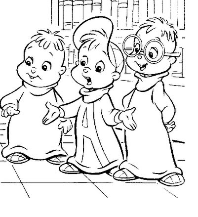 alvin and the chipmunks cartoon coloring pages printable and coloring book to print for free find more coloring pages online for kids and adults of alvin - Chipmunk Coloring Pages Printable