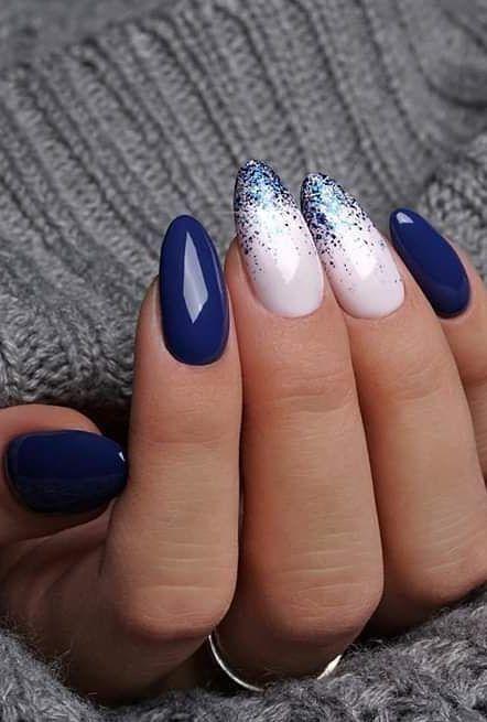 Nails Nails Winter Nails Winter Gel Nails Acrylic Coffin Nail Designs Nail Ideas Almond Nails Designs Almond Acrylic Nails Creative Nails