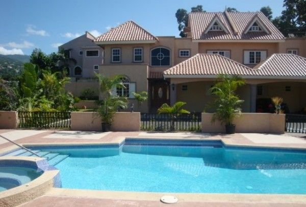 Photo here are the richest neighbourhoods in jamaica for Cost of building a house in jamaica