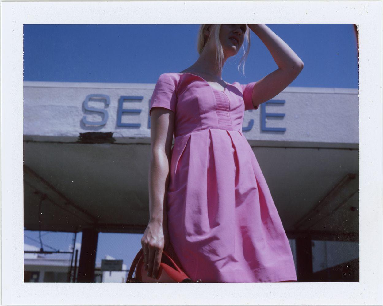 Hannah Holman photographed by Lina Scheynius for Orla Kiely.