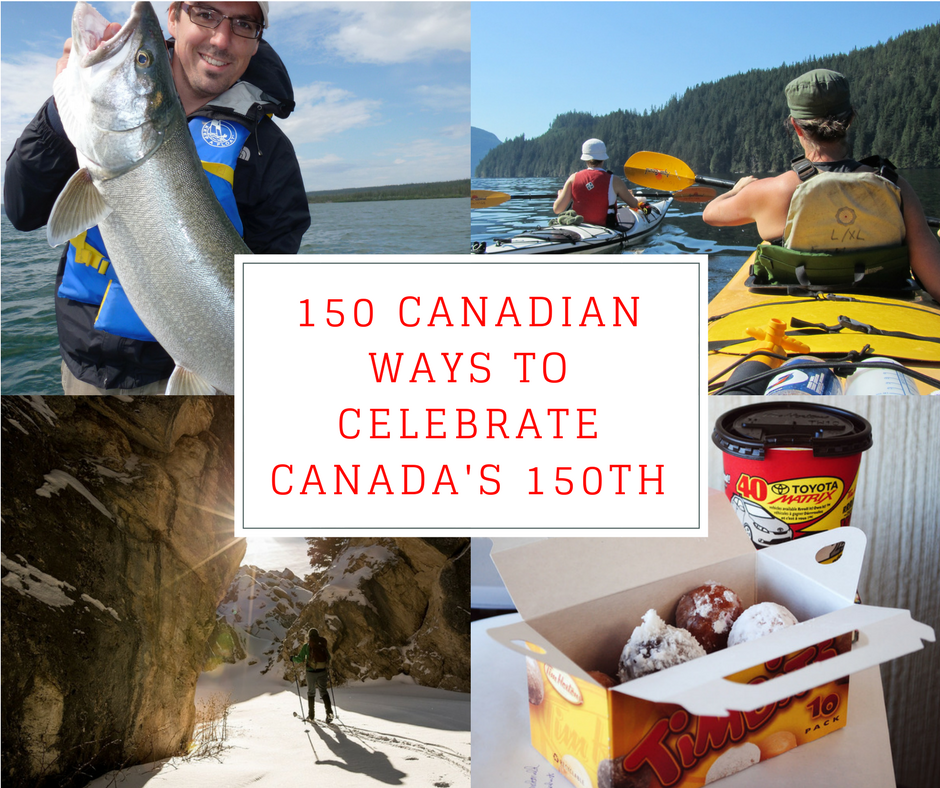 From maple syrup on a stick to enjoying the national sport, it's covered here in this 150 Very Canadian Ways to Celebrate Canada's 150th post.