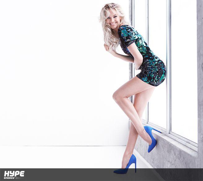 Candice Swanepoel leggy shot...