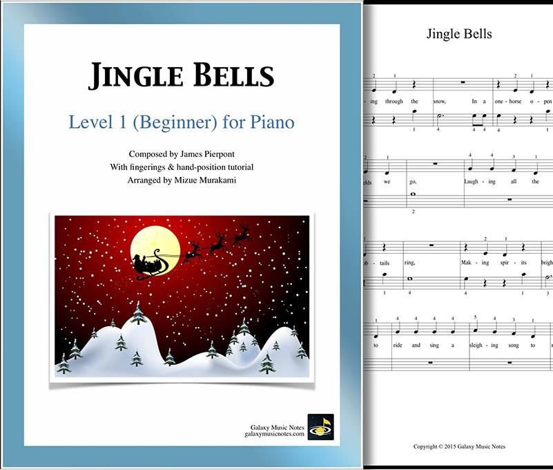 Jingle Bells Level 1 Piano Sheet Music Piano Sheet Music