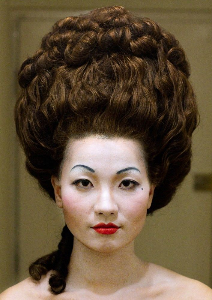 18th Century Hair And Makeup Female Asian Woman Young Vintage Hairstyles Hair Styles Hair Inspiration