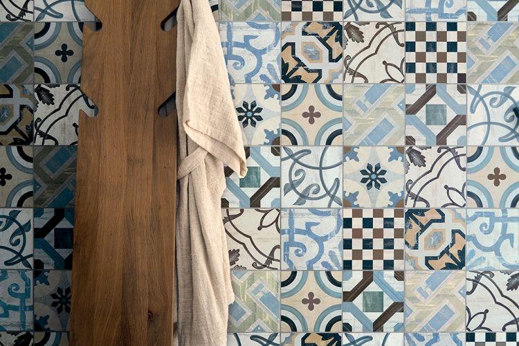 Ceramica maioliche e cementine:piastrelle di tendenza maioliche
