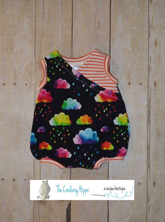 9a09b7bac8cc NB Acid Rain Teddy Romper Infant Twins Baby by TheCorduroyHippo Twin  Babies