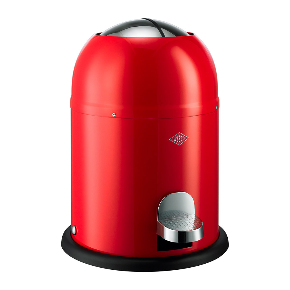 Wesco Kickboy Wit.Buy Wesco Single Master Bathroom Trash Can Red Banio In