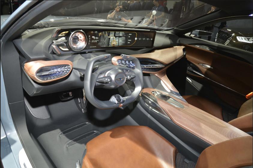 2018 Hyundai Genesis Coupe Interior Design