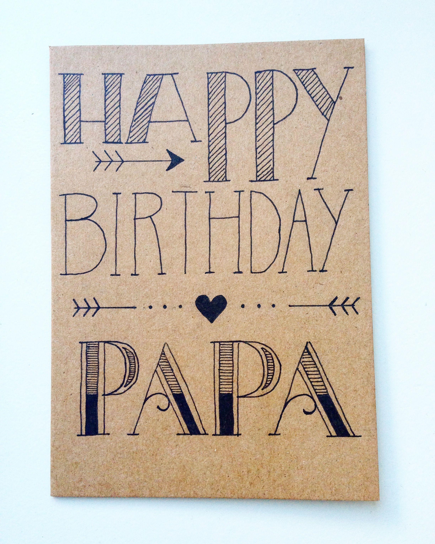 Geburtstagskarte Geburtstagskarte Basteln Papa Geburtstagskarte