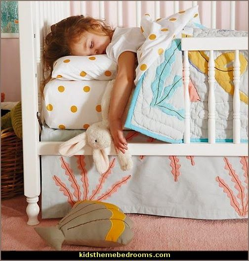 Bedroom Decorating Ideas Ocean Theme ocean baby bedding | under the sea baby bedroom decorating ideas