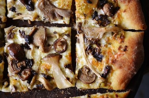 #pizza #mushrooms