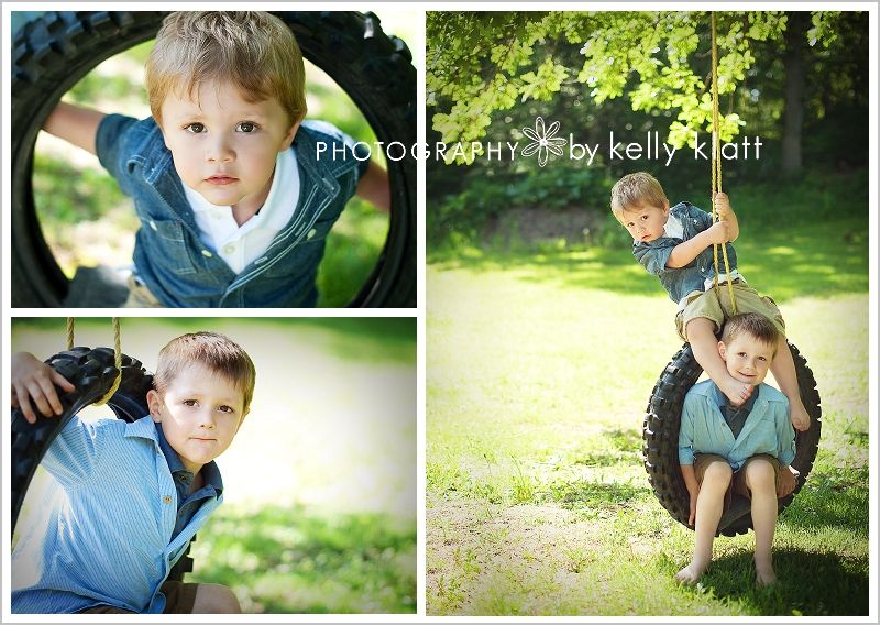 The boys might be a tad too old for these shots, but it's worth a shot to see how they turn out.