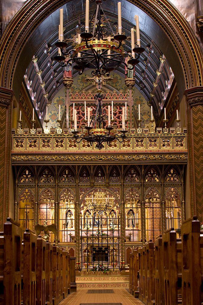 Signorcasaubon Rood Screen Of Saint Giles Chiesa