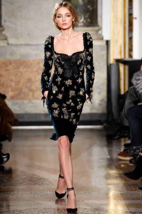 Pucci FW11 :: Snejana Onopka | gorgeous dress + Divanopka = amazing