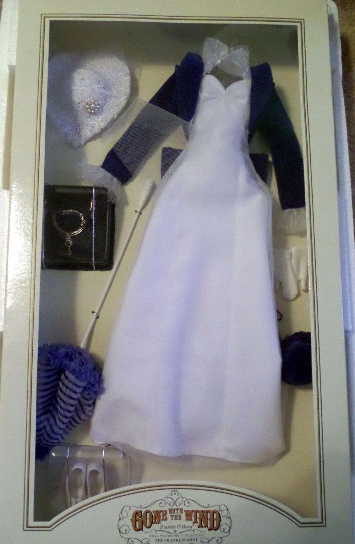 Franklin Mint GWTW Scarletts Sawmill Surprise Gown 16 Vinyl Doll Ensemble