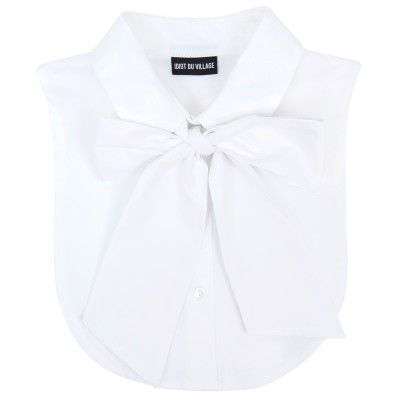 white collar pussy bow