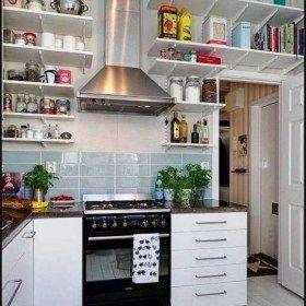 kerennya desain dapur ukuran 3x3 bagi rumah anda di 2020