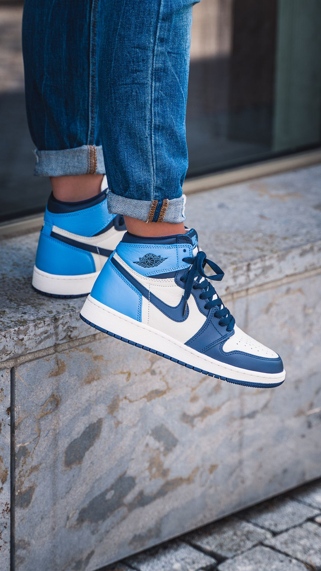 air jordan 1 obsidian unc gs