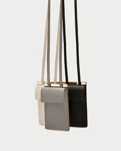 Image 4 of CROSSBODY MOBILE PHONE BAG from Zara