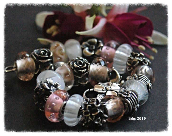 Truebeadz and pink champagne That says it all with this elegant bracelet! By Deborah Taylor