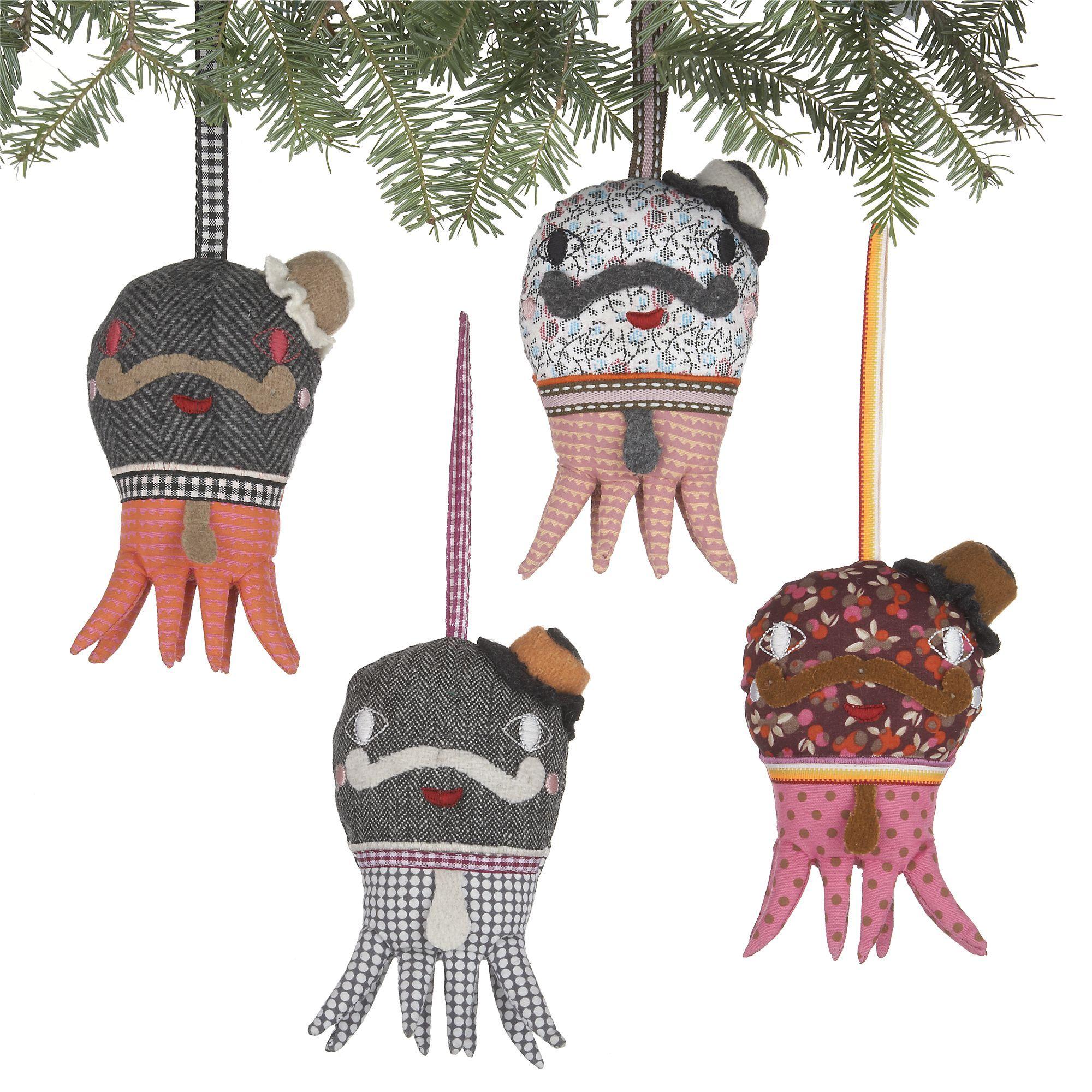 Octopus Ornaments
