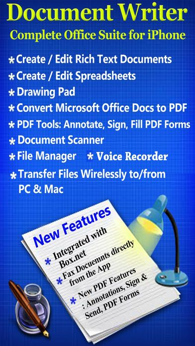 Document Writer for Microsoft Office- Word  PDF Document writer