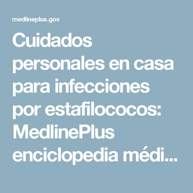 infección por estafilococos tratamiento