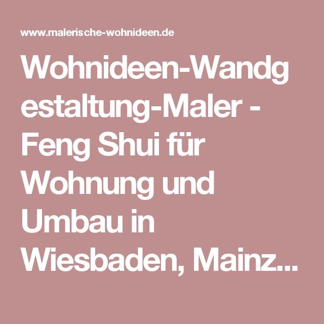 wohnideen-wandgestaltung-maler - feng shui für wohnung und umbau ... - Wohnideen Von Feng Shui