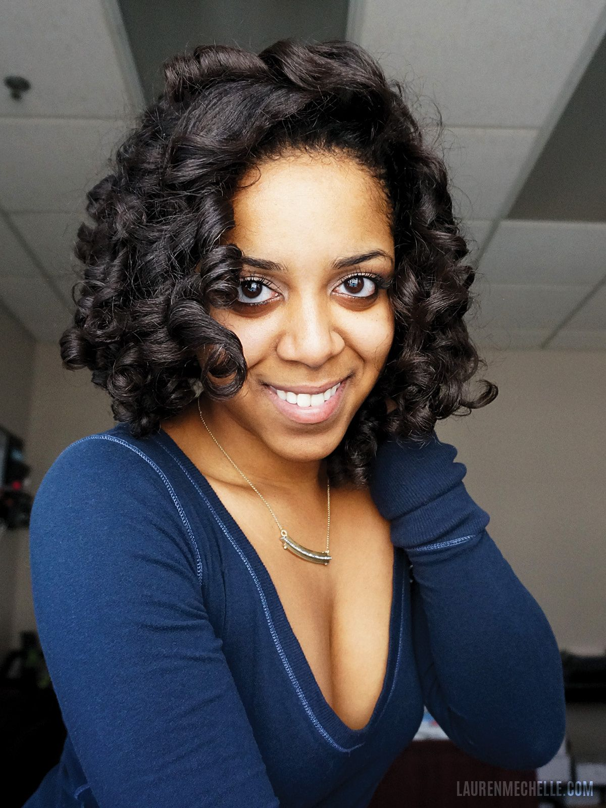 flexi rod hair styles i a great set style i ve done curlformers 9522