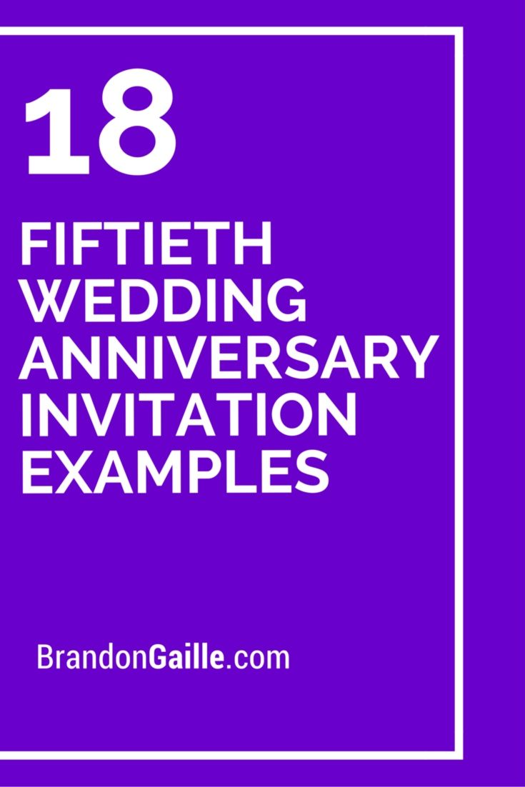 18 fiftieth wedding anniversary invitation examples messages and 18 fiftieth wedding anniversary invitation examples stopboris Choice Image