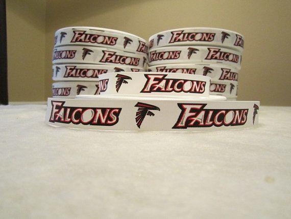 Alanta Falcons 1 Ribbon 5 Yards   FREE by alladorablethings
