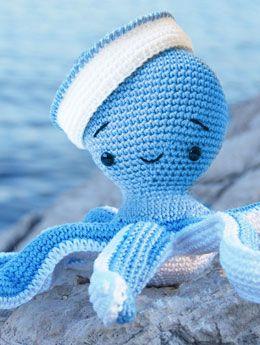 Yarn Octopus Pepika Amigurumi Sailor Octopus Pattern Crochet