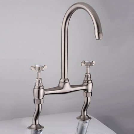 Quooker Nordic Round boiling water tap (ignore the mixer tap ...